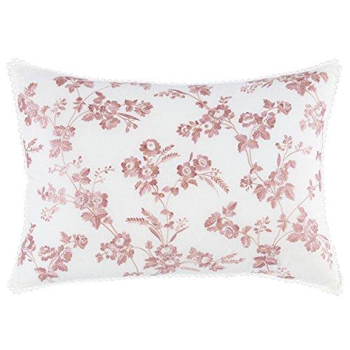 Laura Ashley 220897 Olivia 14x20 Breakfast Pillow, 14 x 20, Blue