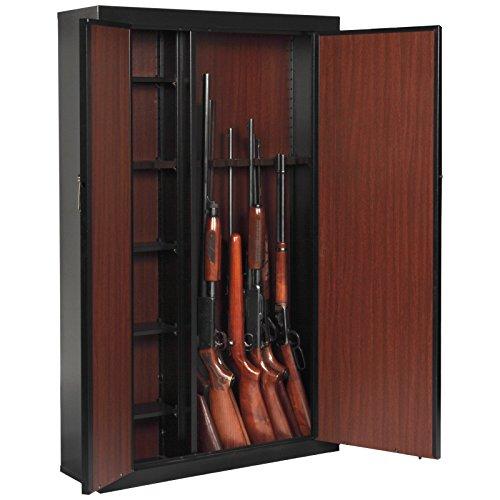 American Furniture Classics 916 Woodmark Series 16 Gun Cabinet With Storage Gun Safe Reviews