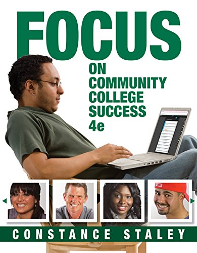 FOCUS on Community College Success (Cengage Learnings FOCUS Series)