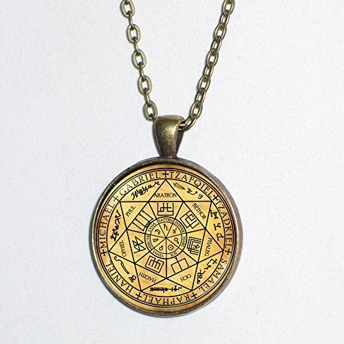 Magical Rune symbol for PROTECTION /& STRENGTH pendant necklace HM