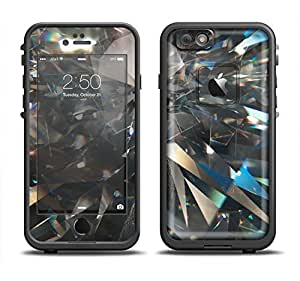 The Abstract Shattered Crystal Pattern Skin Set for the Apple iPhone 6 LifeProof Fre Case (Skin Only)