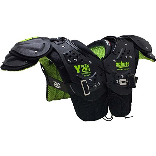 Schutt Sports Y-Flex 4.0 All-Purpose Youth Football Shoulder Pads, Medium