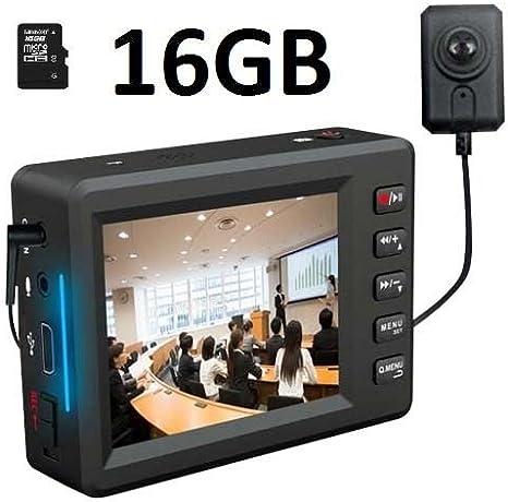 """USA 2.7/"""" Angel Eye Spy Mini Button Camera Video Record System Pocket Video DVR"""