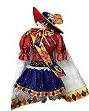 Mtxc Women's Love Live! Cosplay Costume Nico Yazawa Magician themed cards Size Medium Red