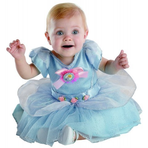 Costumes For All Occasions Dg50481W Cinderella Infant