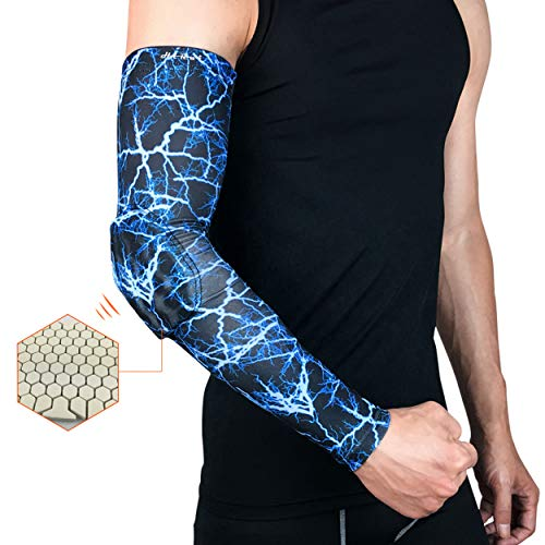 Honeycomb Armband Elbow Support Arm Sleeve Breathable Football Safety Sport Elbow Pad Brace Protector Basketball Arm Sleeve Utmost In Convenience Apparel Accessories