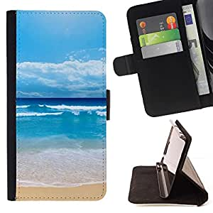 For Samsung Galaxy S4 IV I9500 Case , Shuitianyise- la tarjeta de Crédito Slots PU Funda de cuero Monedero caso cubierta de piel