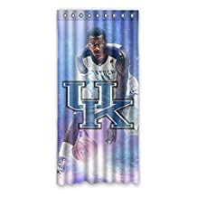 "Custom Home Kentucky Wildcats Curtain Panels Polyester 52""x108"" one piece"