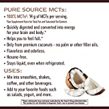 Nature's Way Organic MCT Oil From Coconut, Non-GMO, Gluten-free, 14 g MCTs per serving, 16 FL Ounce
