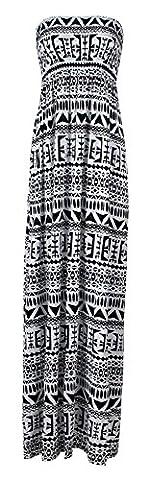 Womens Plus Size Polka Dot Print Sheering Maxi Dress (SM, Tribal Big Aztec) (Zj Sm)
