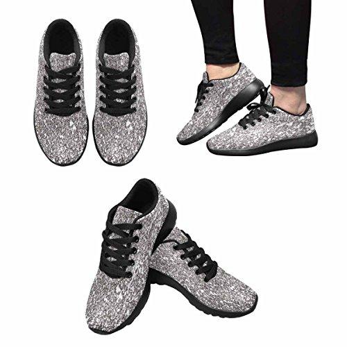 InterestPrint Womens Jogging Running Sneaker Lightweight Go Easy Walking Comfort Sports Running Shoes Concrete Wall Multi 1 rCbX5zmCbB