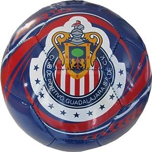 Amazon.com : 2013 Chivas de Guadalajara Soccer Ball-Blue