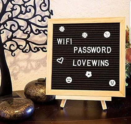 Letters Board Letter Sign letterboard Black Felt with Letters Word Board Letter Boards 16x20 Black Letter Board +340 Letters Felt Letter Boards Message Board