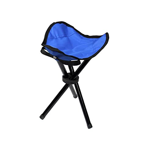 Superbe Huayang| Portable Ultralight Outdoor Picnic Camping Fishing Canvas Folding  Chair Stools Triangle Chair Seat Sports