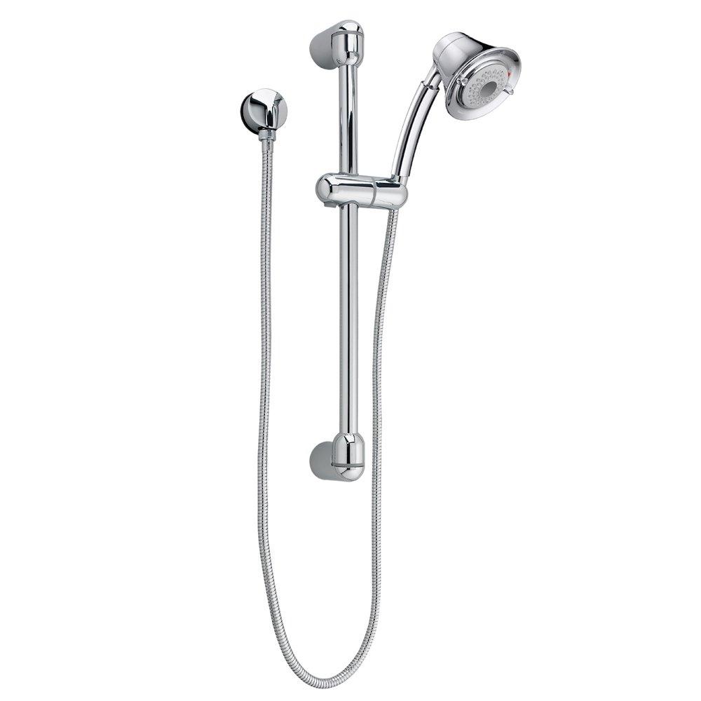 Satin Nickel 1662743.295 American Standard 1662.743.295 Flowise Transitional Water Saving Shower System Complete Kit