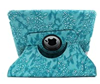 Sanoxy 360 Rotating Swivel Vegan PU Leather Case with Smart Cover and Stand for iPad 2/3/4