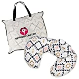 NURSING / FEEDING PILLOW with BONUS HEAD POSITIONER - TRIANGLE DESIGN - By Mother Comfort- Comfortable for both Mother and Baby - Removable Cotton Cover- Easy to Wash: more info