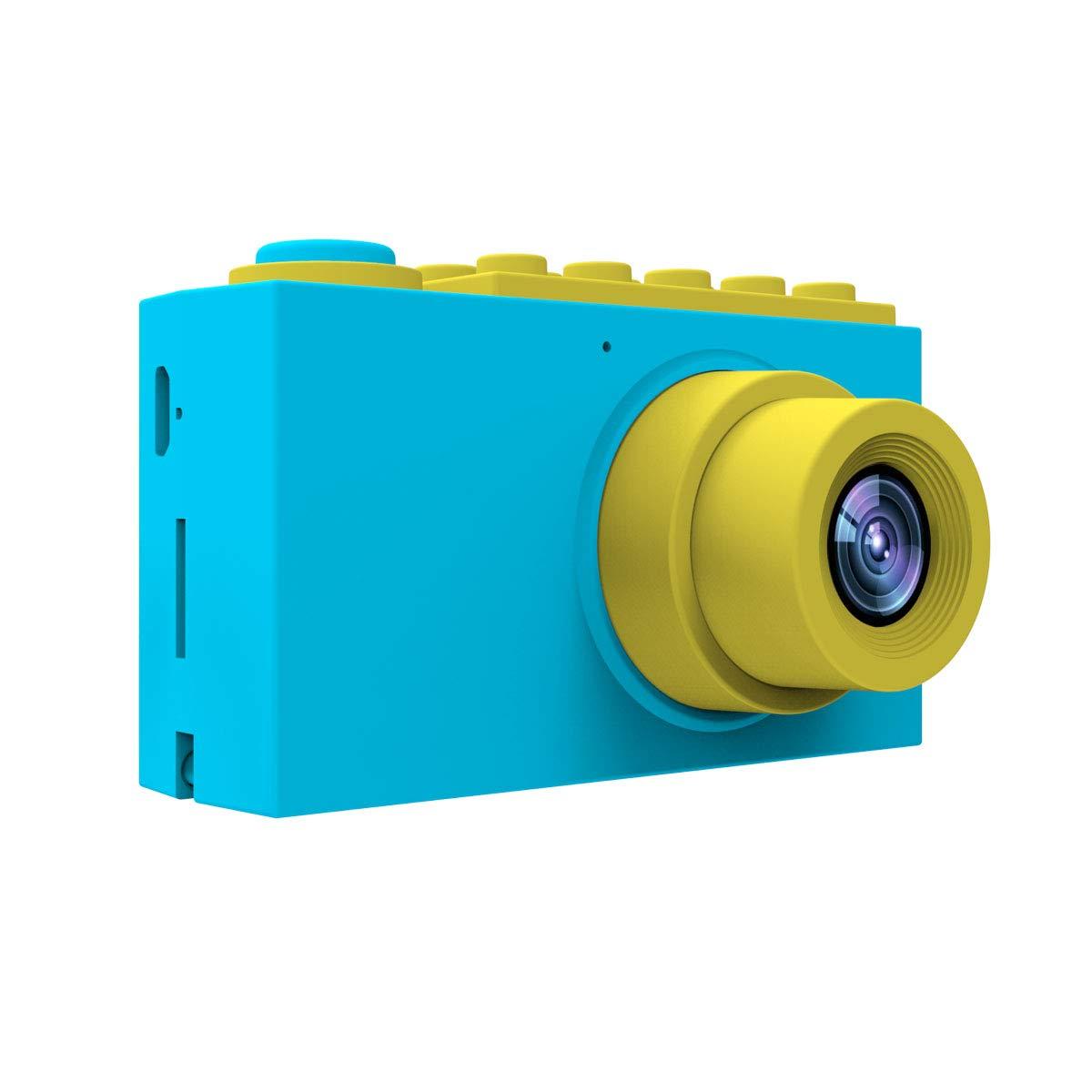 MAGENDARA Kids Digital Camera HD 1080P Children Camera 2.0 Inch Screen Toy Camera Boys Girls Birthday, Blue