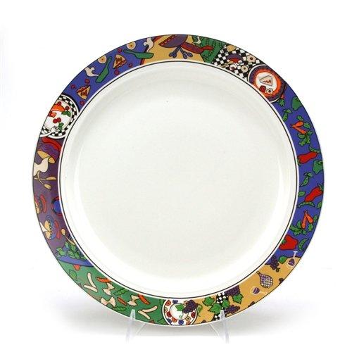 (Cuisine by Sakura, Stoneware Chop Plate)