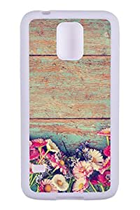 Generic Custom Picture Summer Flowers TPU Rubber Snap On Skin Cover Back Cell Phone Case For Samsung Galaxy S5
