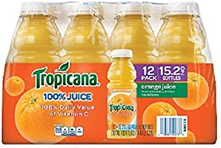product image for Tropicana Orange Juice - 12/15.2 oz. bottles