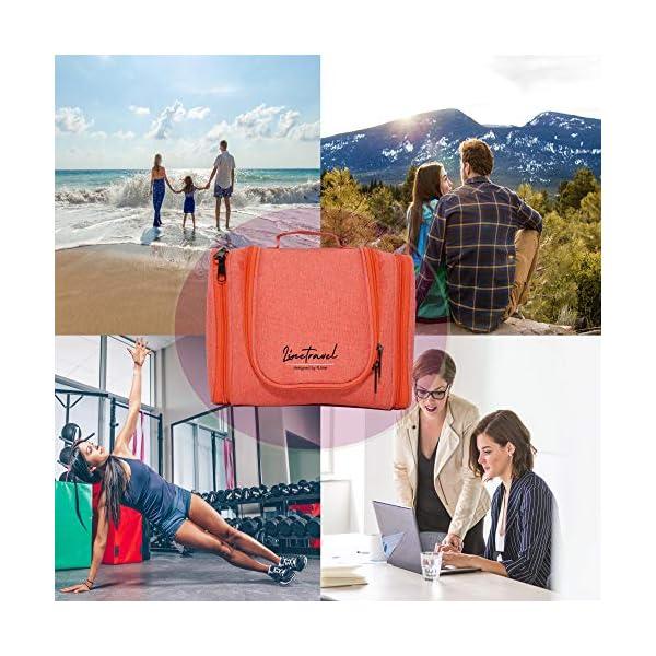 R.line Beauty Case da Viaggio Termica | Miglior Beauty Case Donna Impermeabile | Beauty Case Viaggio da Appendere con… 5 spesavip