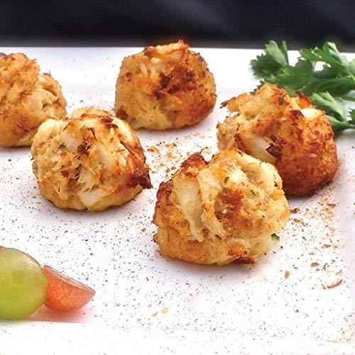 Premium Lump Crab Cakes - Gourmet Frozen Appetizers (45 Piece ()