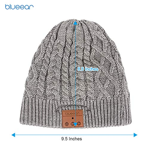Bluetooth Beanie Hat Bluetooh 5.0 Headphone blueear Wireless Winter Knit Hats with Stereo Speaker an - http://coolthings.us
