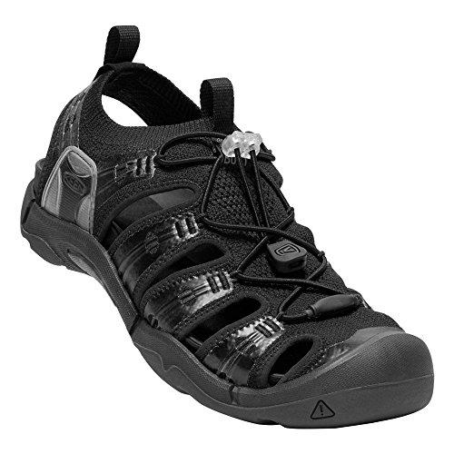 Keen Water Sandals - KEEN - Men's EVOFIT ONE Water Sandal for Outdoor Adventures, Triple Black, 13 M US