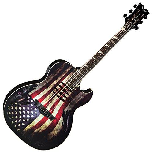 (Dean MAKOGLORY Acoustic-Electric Guitar -