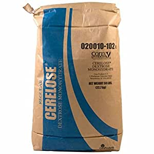 Midwest Homebrewing and Winemaking Supplies B0064OACFO FBA_4114058 Corn Sugar-50 Lbs