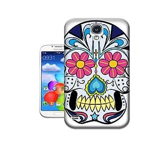 Desirai Labrada Blue Skull Cheap Hard Protective Plastic Case for Samsung Galaxy s4