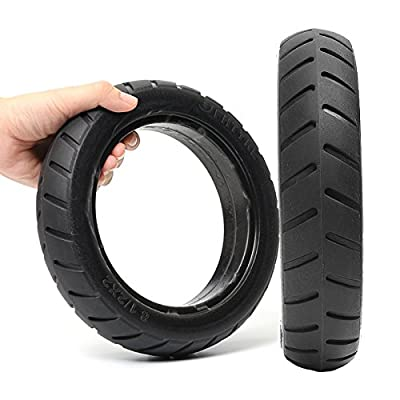Plat Firm BIKIGHT Scooter Tire Vacuum Solid Tyre for Xiaomi Mijia M365 Electric Scooter Segway Ninebot ES1 ES2 : Sports & Outdoors