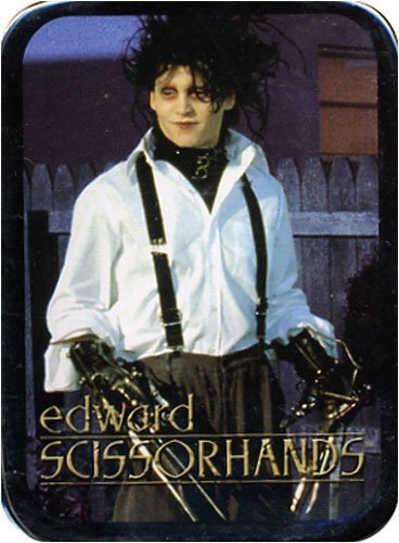 (Edward Scissorhands Playing Cards in a Stash Box Tin)