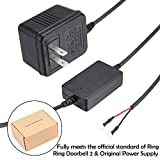 Power Supply Adapter Transformer for Ring Video Doorbell Doorbell 2 and Original Version by JOYEAN