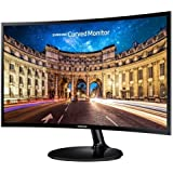 "SAMSUNG C24F390F 1800 Curved 24 inch LED Free Sync 24"" Full HD 1920x1080 VA panel HDMI D-Sub Monitor"