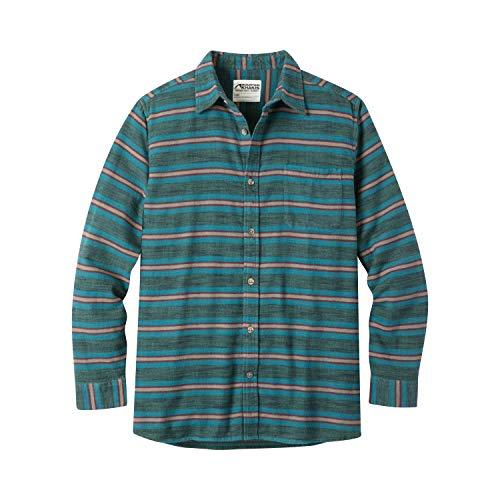 Mountain Khakis Mens Lundy Flannel Shirt, Deep Sea, Medium (Oz Flannel Shirt 5)
