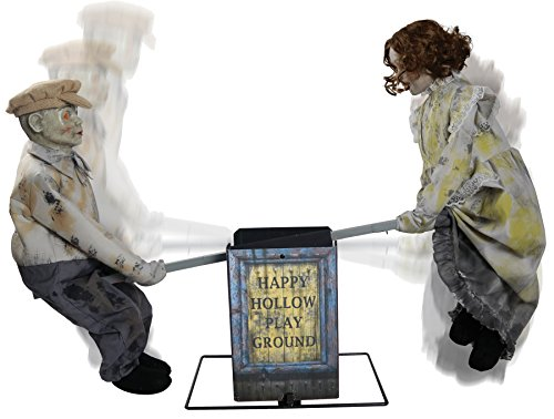 Seasonal Visions See Saw Dolls Animated Prop]()