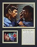 Star Trek - Mirror, Mirror 11'' X 14'' Unframed Matted Photo Collage By Legends Never Die, Inc.