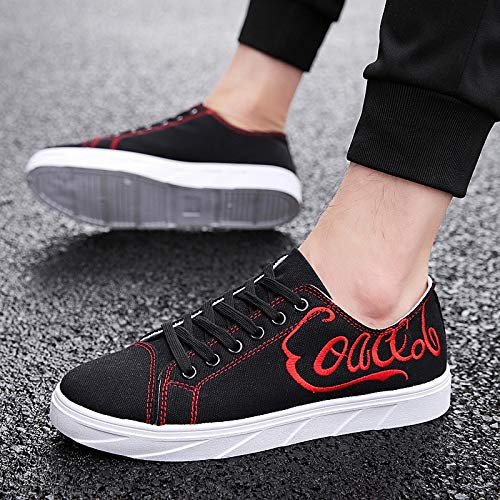 Shoes Shoes Single Winter 18 Sneakers Breathable Men's Cloth Autumn Fashion Canvas Student Personality and NANXIEHO Shoes Shoes Trend a50qBX