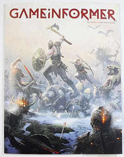 Game Informer 298 - The World's #1 Video Game Magazine - February 2018 - God of -