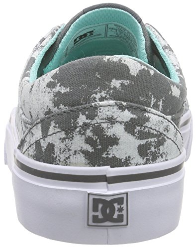 DC Shoes Trase TX Se J Shoe, Baskets Basses Femme Gris - Grau (Xskw)