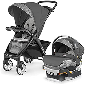 Amazon.com : Chicco Bravo Trio Travel System, Lilla : Baby