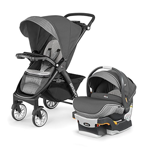 Chicco Bravo LE Trio Travel System, Silhouette (Travel System 30 Keyfit Cortina)