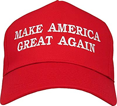 Make America Great Again Donald Trump RED Hat Success Cap Republican Embroidered