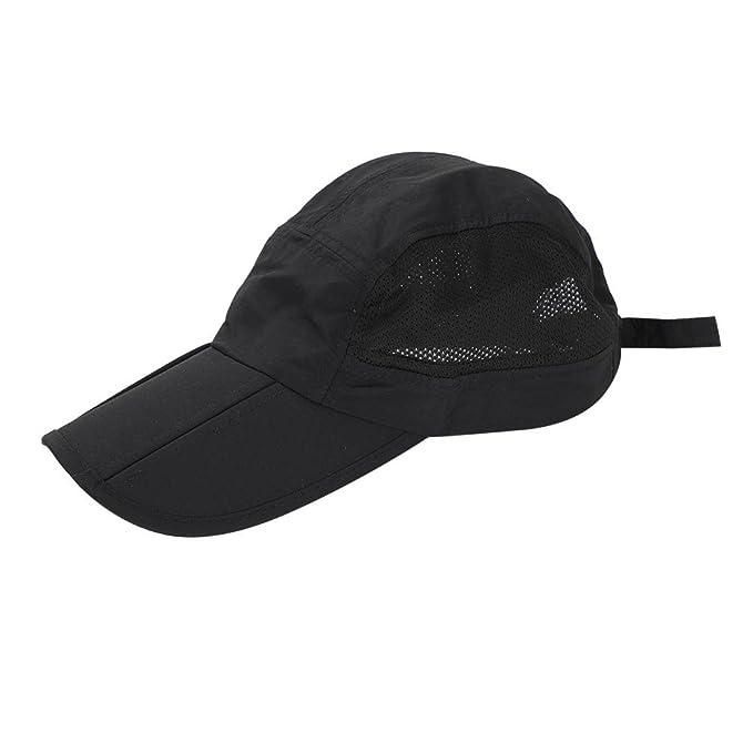 Gorra de béisbol para hombre gorra visera Large borde protección salario sombrero de sol playa viaje pesca Golf Pesca Camping UPF50+… eX0mmVE