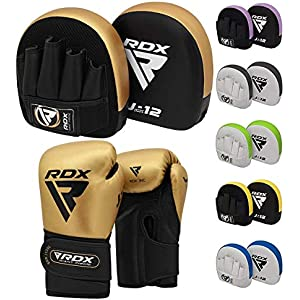 Focus Pad-1102, Boxing Gloves 16-OZ ADULT BOXING GLOVES SET TRAINING FOCUS PADS MITTS MMA HAND WRAPS SET WHITE S9