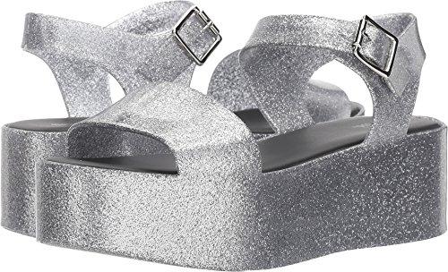 Melissa Shoes Womens Mar Silver Sparkle 8 - Mar Silver