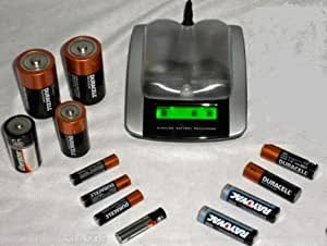Amazon.com: Alkaline Battery Recharger for AAA, AA, C and