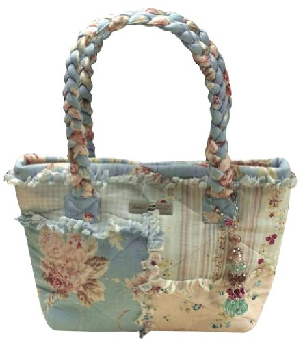 Isabella's Journey Singing the Blues Petite Carpet Top Handled Handbags (Isabellas Shop Handbag)